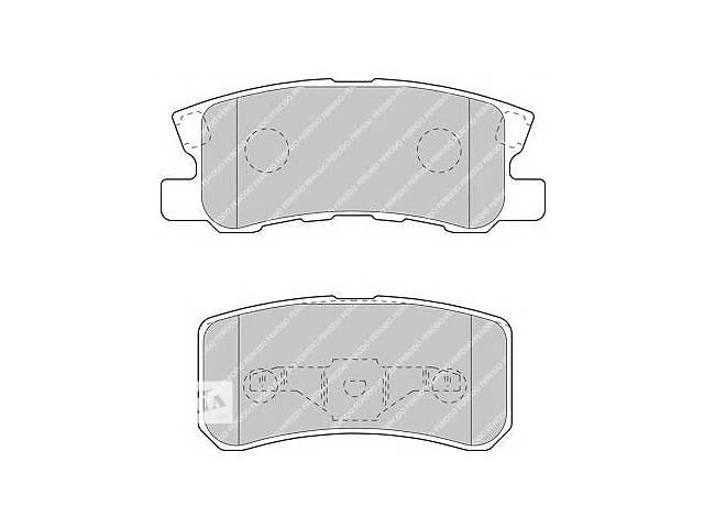 Тормозные колодки задние комплект для авто MITSUBISHI PAJERO 00-- объявление о продаже  в Черновцах