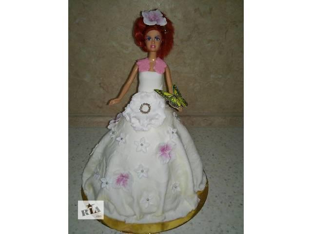 купить бу Торт в виде куклы в Киеве