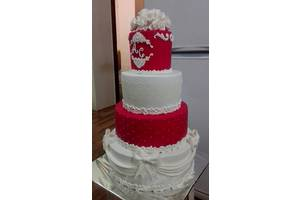 Свадебный торт, каравай