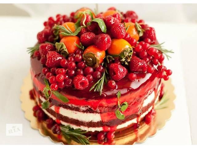 купить бу Торты на заказ: свадебные, детские, торты на юбилей! в Киеве