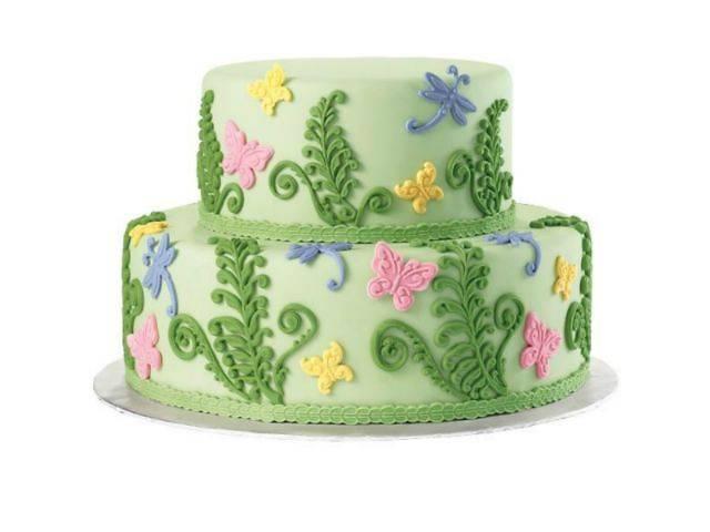 Рисунок в форме торта