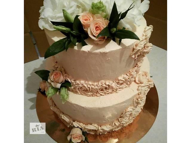бу Торты на заказ Свадебные торты скидка 10 % в Киеве