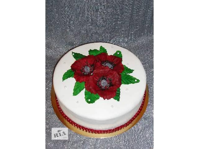 продам торты на заказ бу в Дрогобыче