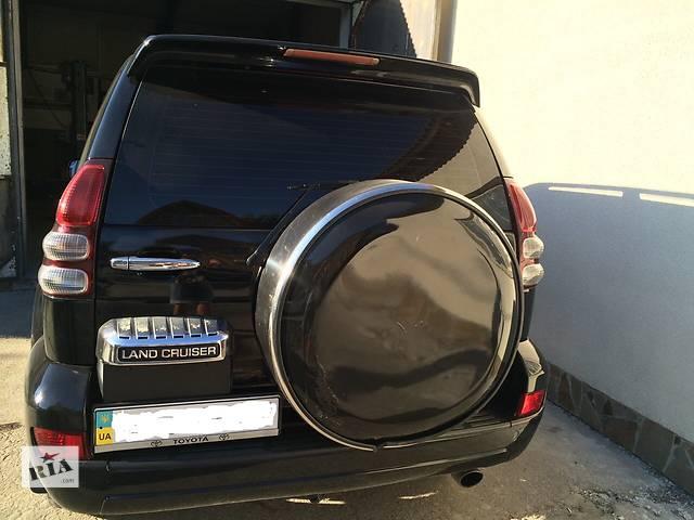 купить бу  Toyota Land Cruiser Prado 120 крышка багажника под запаску в сборе  в Львове