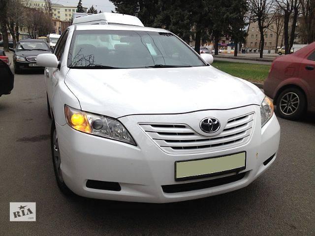 бу Toyota Camry  белый в Днепре (Днепропетровске)