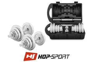 Новые Хромированные гантели Hop-Sport