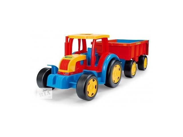 Трактор гигант с прицепом Gigant Wader, 66100- объявление о продаже  в Львове