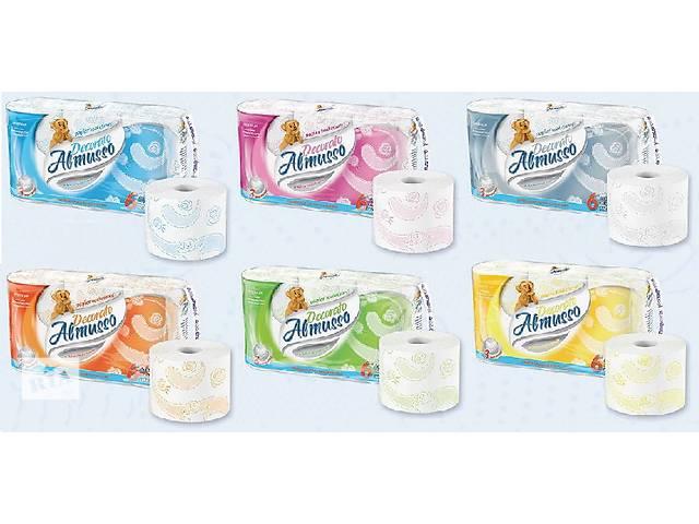 Трехслойная туалетная бумага Almusso Decorato Польша Оптом в Розницу- объявление о продаже  в Нововолынске
