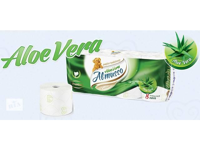 продам Трехслойная туалетная бумага с бальзамом Almusso Aloe Vera Польша оптом и в розницу бу в Нововолынске