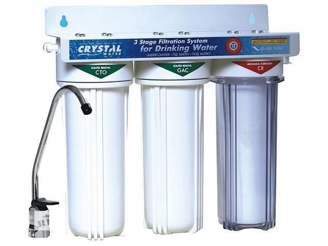 Трехступенчатая система очистки воды под мойку UWF-XG 3- объявление о продаже  в Ивано-Франковске