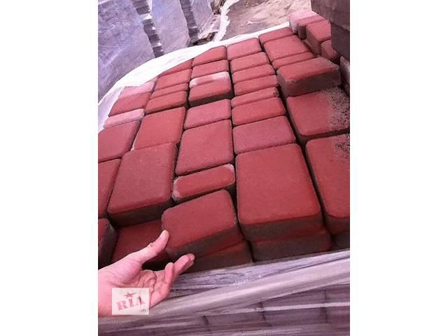 продам Тротуарная плитка Старый Город 4мм 6мм 8мм , поребрики бу в Киеве