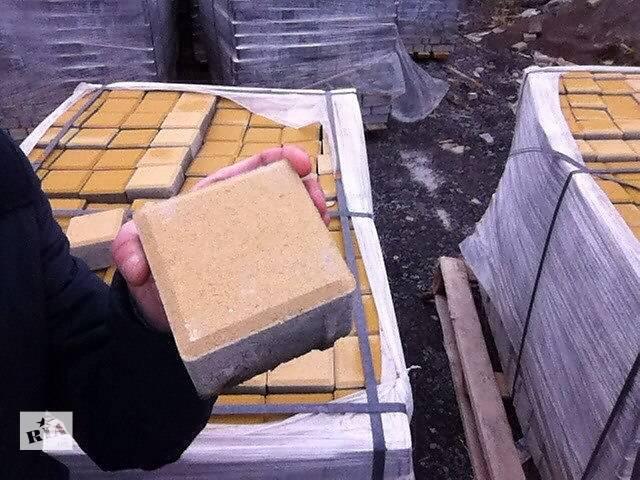 бу Тротуарная плитка старый город, кирпич, квадрат от производителя  в Киеве