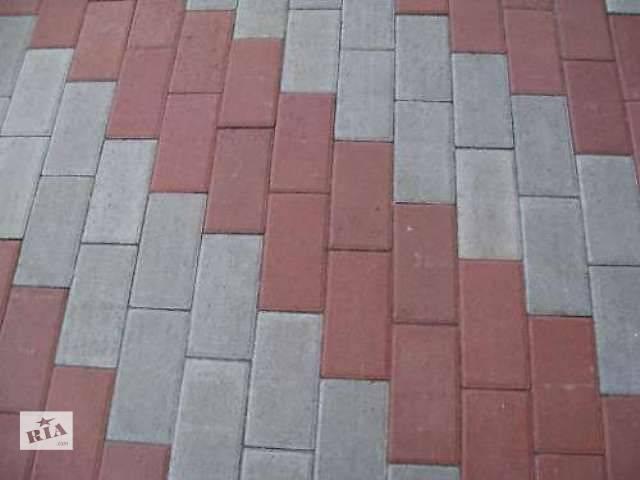бу Тротуарная плитка, укладка и доставка в Броварах