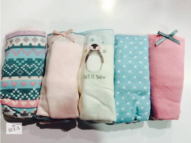 купить бу Трусы мини бикини Примарк женские хлопковые Новая коллекция 2017 в Луцке