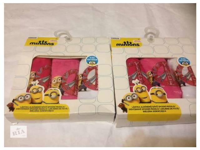 продам Трусики для девочек Disney Minions бу в Киеве