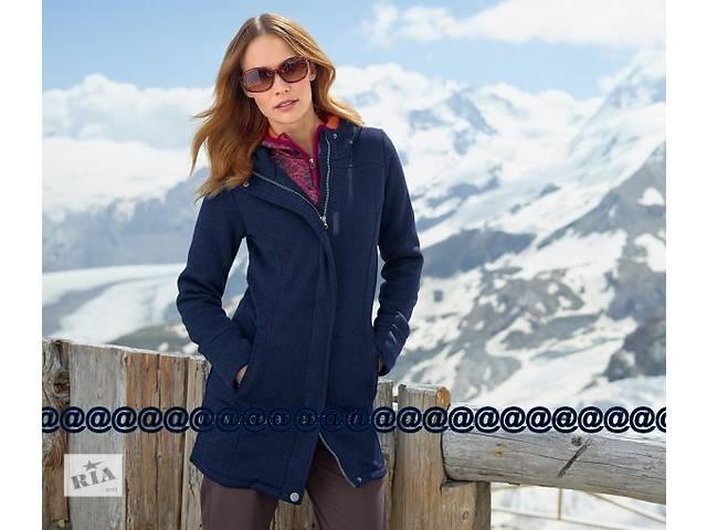 купить бу Трикотажное пальто, куртка на флисе TCM Tchibo, р. L в Полтаве