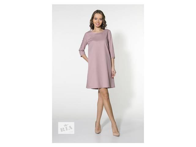 Трикотажное розовое платье арт.14089- объявление о продаже  в Киеве