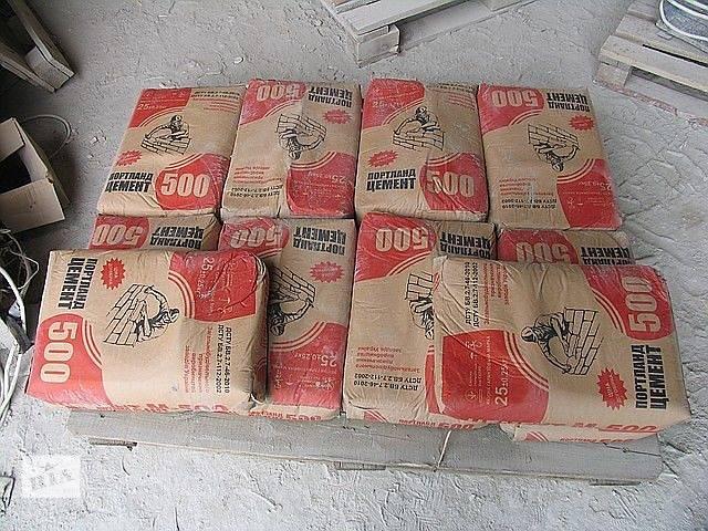 бу Цемент М500 в Броварах