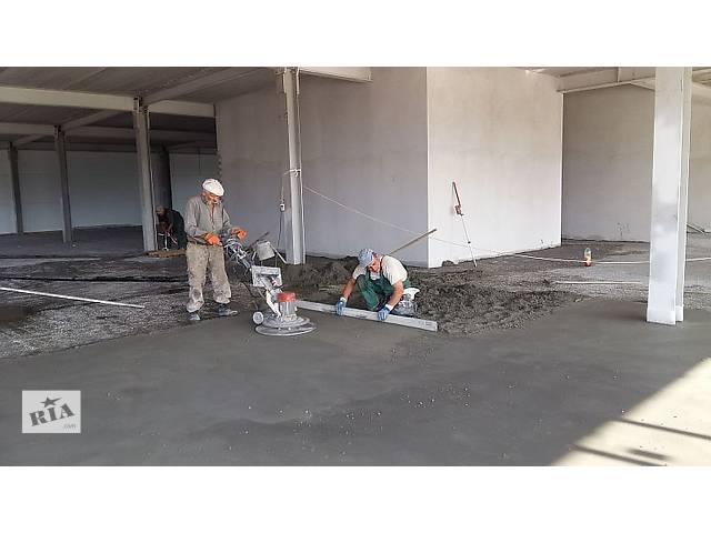 цементно-песчаная стяжка- объявление о продаже   в Украине