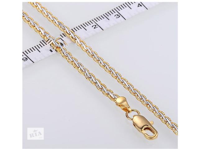 Цепочка позолота белое и желтое золото- объявление о продаже  в Одессе