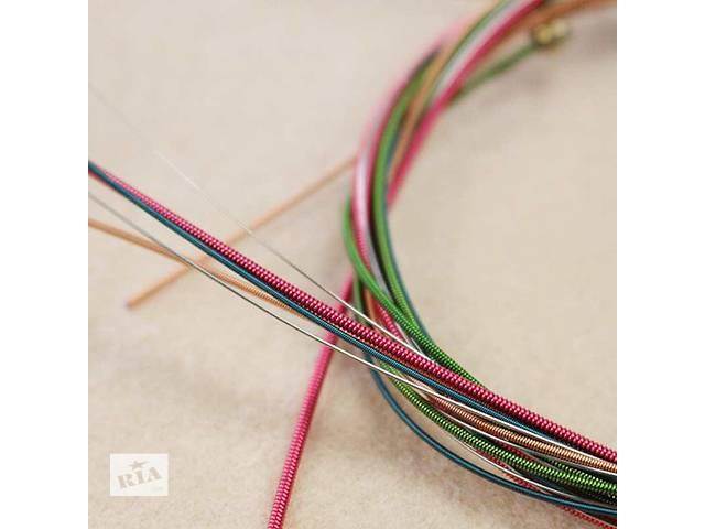 купить бу Цветные струны для акустики в Запорожье