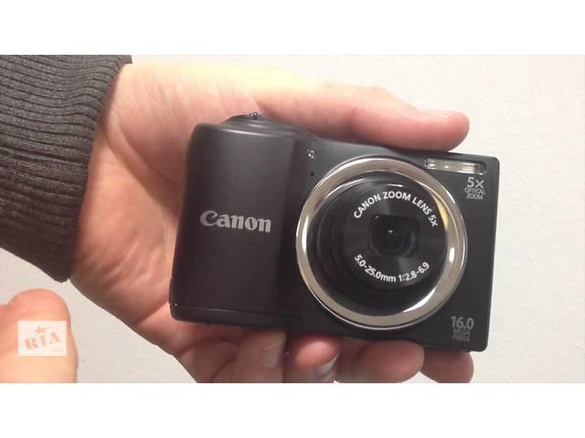 бу Цифровой фотоаппарат Canon PowerShot A810 - 16 Мп. - в Идеале ! в Херсоне