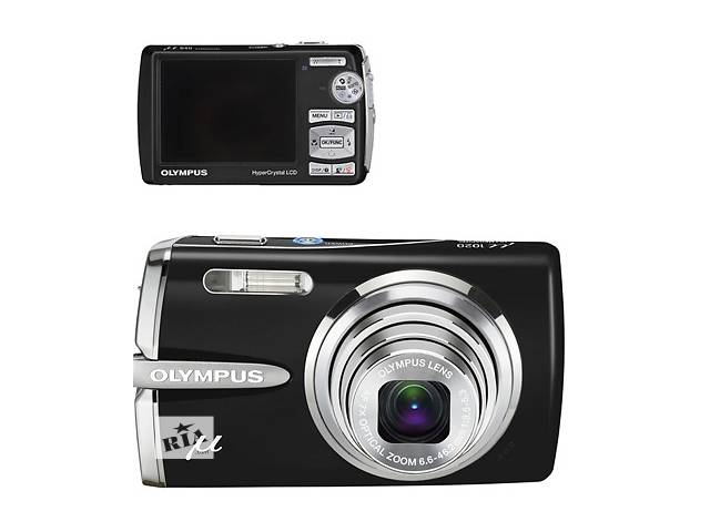продам  Цифровой фотоаппарат Olympus Mju 840 Black бу в Киеве