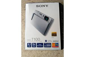 б/у Цифрові фотоапарати Sony DSC-T110