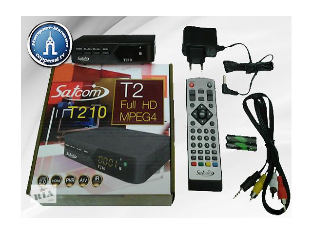 купить бу Цифровой эфирный тюнер Satcom T210 HD DVB-T2 в Харькове