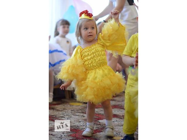 Костюм цыпленка для девочки сшить своими руками