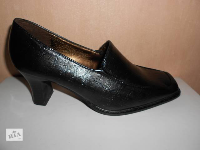 купить бу Туфли 35 размер, искусственная мягкая кожа в Николаеве