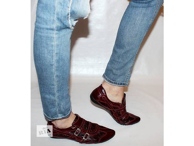 Туфли 39 р Punto bella Италия кожа оригинал- объявление о продаже  в Мукачево