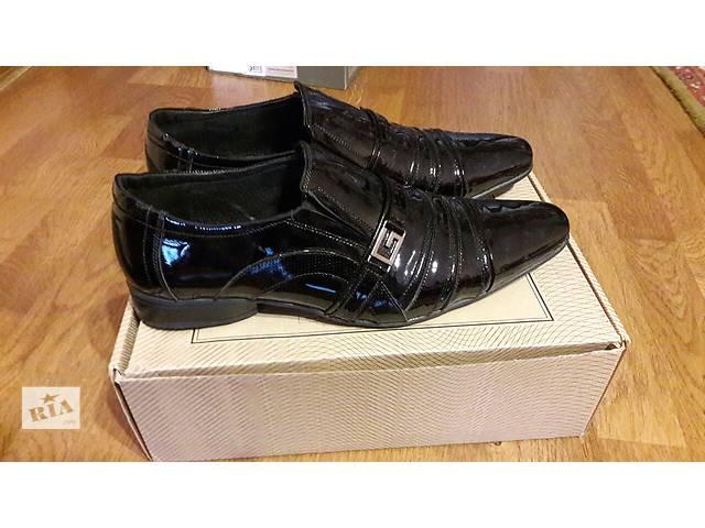 Туфли 48 р. лакированные- объявление о продаже  в Ужгороде