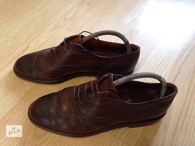 купить бу Туфли Броги мужские Итальянские в Виннице