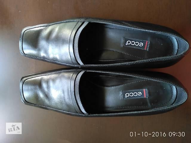 продам Туфли ECCO - кожа, привезены с Германии, одевались в офисе 1 раз бу в Киеве