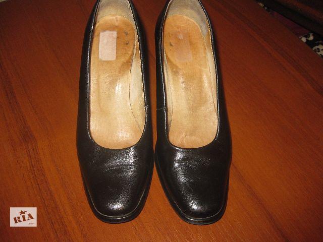 купить бу Туфли кожаные в Черкассах