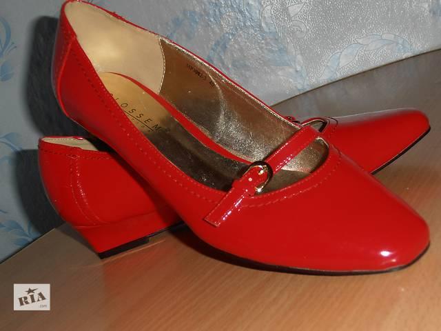 купить бу Туфли лаковые в Мирнограде (Димитрове)