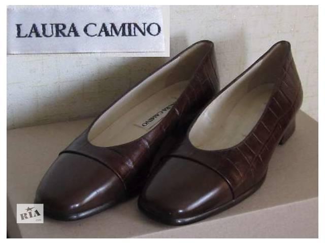 Туфли  Laura Camino (Италия - Англия) натуральная кожа р.36- объявление о продаже  в Львове