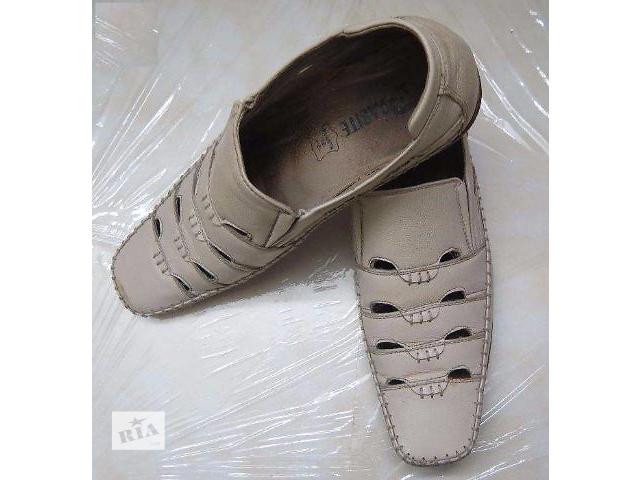 продам Туфли летние кожаные бу в Донецке