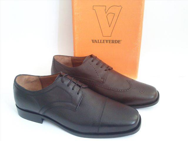 купить бу Туфли мужские Valleverde Италия черные и коричневые в Ровно