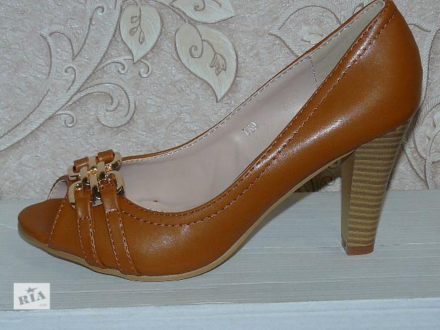 продам Туфли на каблуке 36-41 разм в наличии бу в Доброполье