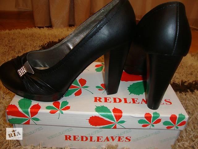 Туфли на каблуке- объявление о продаже  в Львове