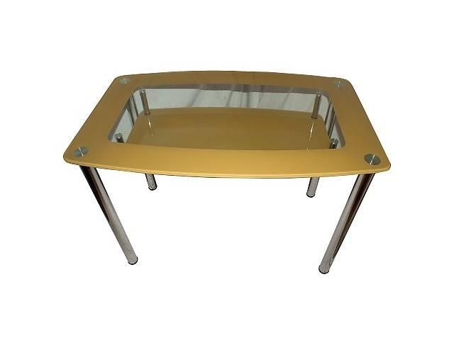 бу Стол обеденный стекляный 1100мм х 700мм , крашеный в Черкассах