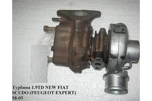 Турбины Fiat Scudo