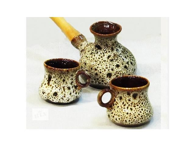 продам Турка керамическая и чашки бу в Львове