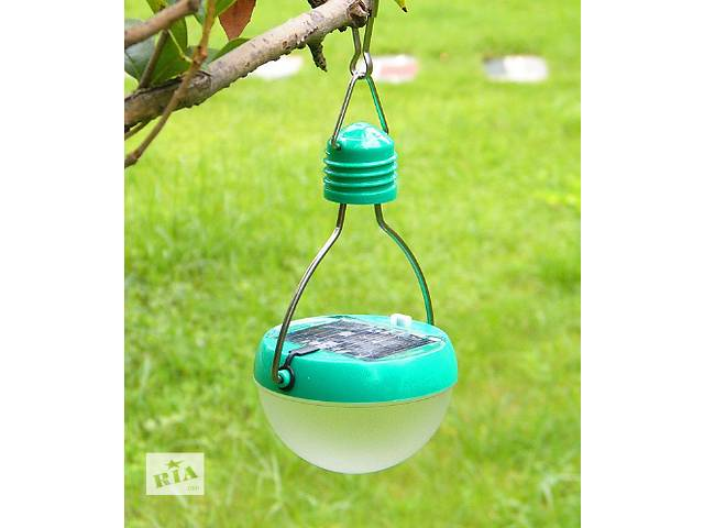 Туристический фонарь на солнечной батарее 6 LED- объявление о продаже  в Южном