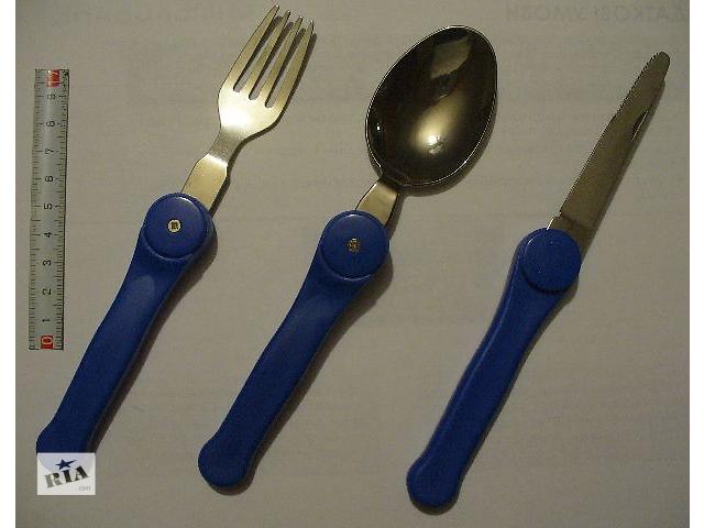 купить бу Туристический набор /нож, ложка, вилка/ в Новомосковске