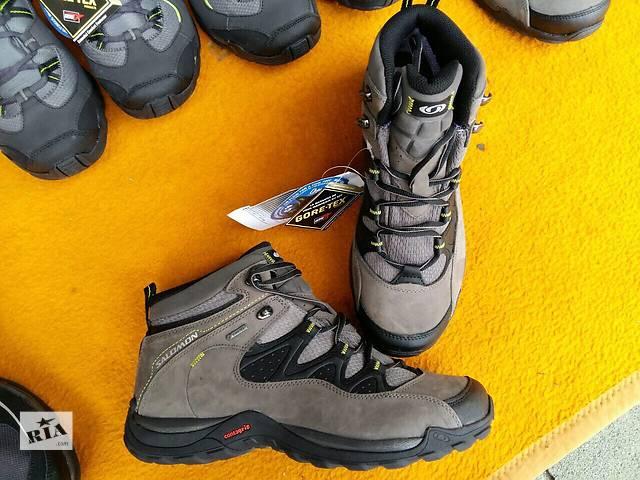 купить бу Туристичні кросівки Salomon ELIOS MID GTX 3 Men в Краснограде