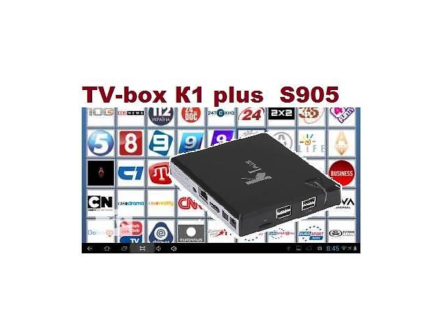 купить бу TV-box Медиаплеер KI plus Amlogic S905 Torrent TV 600 каналов в Черновцах