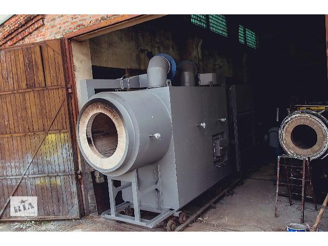 купить бу Вихревые твердотопливные теплогенераторы 1-20МВт в Тернополе